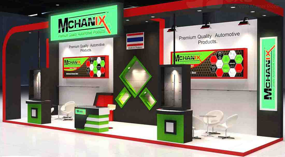 Mchanix Trade Booth - Automechanika